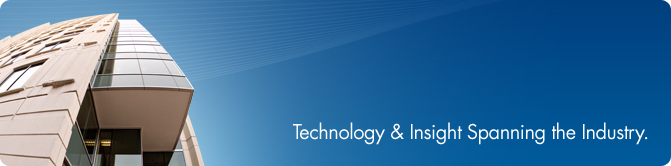 About Us Banner - Technology & Insight Spanning the Industry.