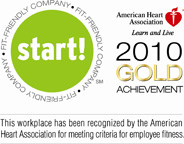 American Heart Association - Learn and Live. 2010 Gold Achievement.